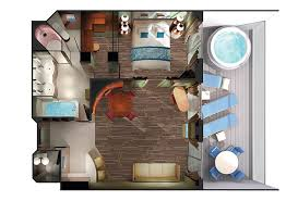 in suite floor plans suites penthouses cruise line