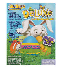 easter egg decorating kits dudley s deluxe easter egg decorating kit joann