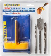 Banister Rail Fixings Zipbolt Rail Bolt Drill Guide For Handrail Fittings