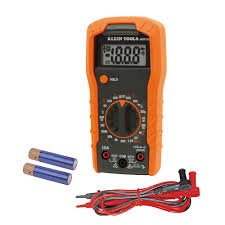 digital multimeter manual ranging 600v mm300 klein tools