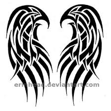 angel wings tattoo by erinhead on deviantart