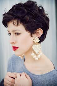 hairstyles for thick grey wavy hair best 25 curly pixie cuts ideas on pinterest curly pixie pixie