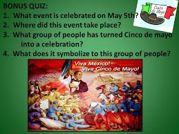 bonus quiz what event is celebrated on may 5th where did this