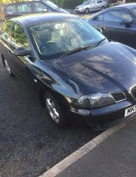 seat ibiza 1 4 53 reg black 3 door hatch 5 speed manual in