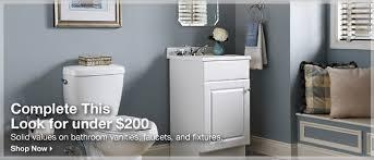 Bathroom Vanities At Lowes Bathroom Vanities Faucets Sinks And Toilets At Lowe U0027s