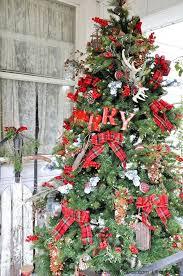 amazing tree decorations ideas minimalist a rustic plaid farm