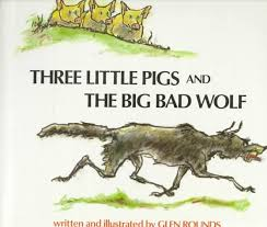 pigs big bad wolf glen rounds