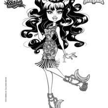 monster high clawdeen wolf coloring pages monster high coloring pages free online games videos for kids