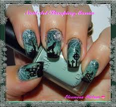 monster mania halloween party nail art stamping mania werewolves bundle monster challenge