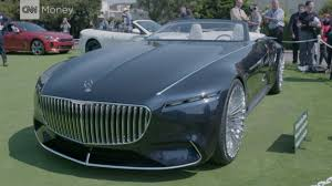 luxury mercedes sedan the 20 foot long 2 seat mercedes convertible cnn video