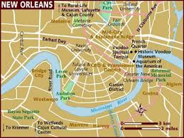 orleans map map of orleans