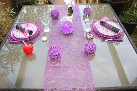chemin de table mariage chemin table abaca pour un mariage ou noel