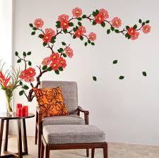 decals design branch with flowers wall sticker sitzop decals design floral branch antique flowers wall sticker