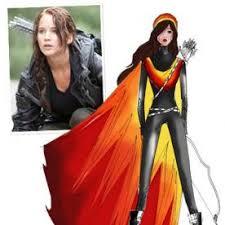 fashion designers sketch katniss u0027s fire dress instyle com