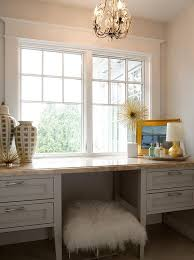 Lucite Vanity Table Dressing Table Under Windows Design Ideas