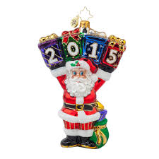 christopher radko ornaments 2015 radko a year to display ornament