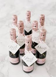 wedding favors for guests 24 wedding favor ideas that don t mini chagne bottles