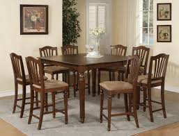 square dining room table chair set for people traditional pictures