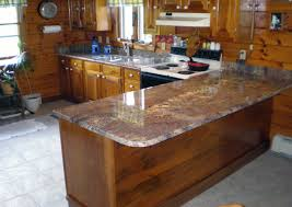 fab l shaped counter kitchen island bordeaux granite countertops