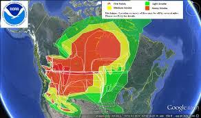 map of oregon smoke u s air quality heavy smoke canada and pacific northwest