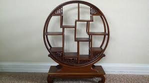 Round Revolving Bookcase Circular Bookshelf Arlene Designs