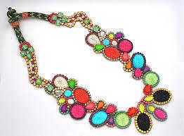 bridesmaid statement necklaces bridesmaid gift ideas bright statement necklace 2