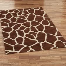 rug giraffe area rug home interior design