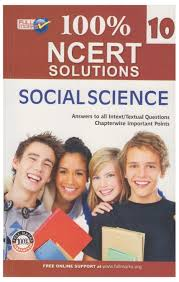 100 ncert solutions social science class 10 answers to all