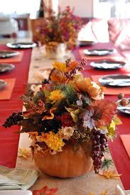 Fall Floral Decorations - pass the pumpkins thanksgiving centerpiece ideas