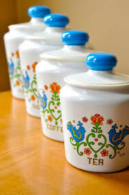vintage retro kitchen canisters 321 best cool kitchen canisters images on kitchen