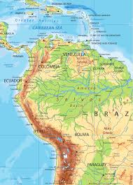 Physical Map Of America by South America Detailed Physical Map By Cartarium Graphicriver