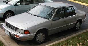 Dodge Spirit Plymouth Acclaim Chrysler 1992 Dodge Spirit Specs And Photos Strongauto