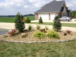 Decorative Rock Landscaping Weilbacher Landscaping Installation Of Mulch Decorative Rock