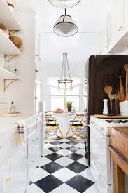 cabinet black and white kitchen floors black and white kitchen