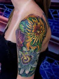 floral tattoo quarter sleeve ideas flower tattoo sleeve flower tattoos flower sleeve tattoos