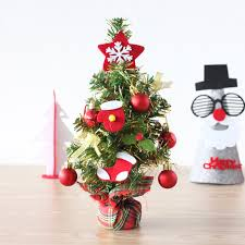 New Year Decoration For Home by Aliexpress Com Buy 2016 New 1 Set Desktop Mini Christmas Tree