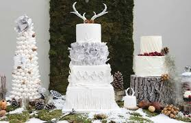 antler cake topper winter woodland wedding cakes cake magazine