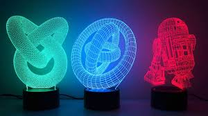 3d Lamps Amazon by 3d Illusion Novelty Led Lamps Youtube