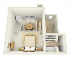 One Bedroom Apartment Design Inspiring Well Awesome Interior - One bedroom design