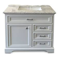 milan collection white bath vanity 36inch x 21inch 1 door 3