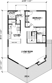 a frame house plans with loft floor plan of a frame cabin narrow lot vacation house plan