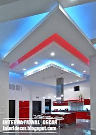 creative suspended ceiling design for kitchen gibson board