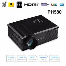 dell home theater projector aliexpress com buy excelvan ph580 hd home theater projector