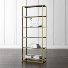 Shop Bookshelves by Remi Large Bookcase Large Bookcase Crates And Barrels