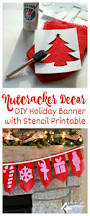 nutcracker decor diy holiday banner