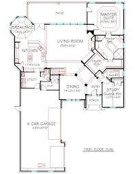 Four Car Garage House Plans 9 Best 4000 Sqft To 4500 Sqft A Plus House Plans Images On