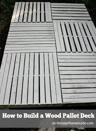 How To Build A Shed Base Out Of Wood by The 25 Best Pallet Decking Ideas On Pinterest Pallet Patio