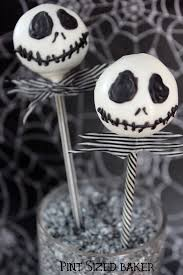 Halloween Cake Pops Recipe Pint Sized Baker Jack Skellington Cake Pops Cakepops