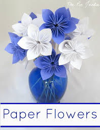 how to ideas pretty paper flower crafts tutorials ideas on origami instructions