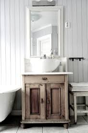 Cottage Bathroom Vanity Cabinets by